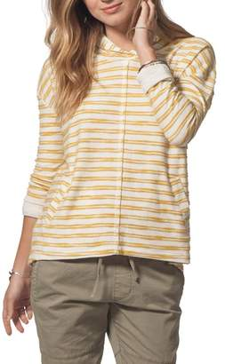 Rip Curl Next Move Stripe Hooded Pullover