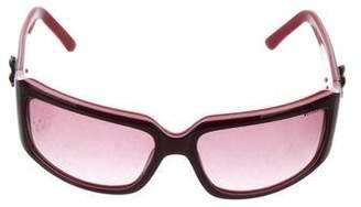 Bvlgari Tinted Square Sunglasses