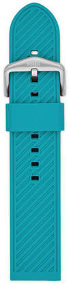 Fossil 22mm Teal Silicone Strap