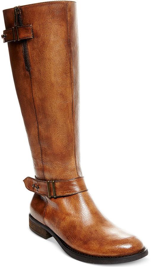 Steve Madden Women's Alyy Wide Calf Riding Boots - ShopStyle