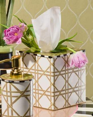 Mackenzie Childs MacKenzie-Childs Lattice Tissue Box Cover