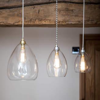 12f208bccf0 clear Glow Lighting Glass Jules Pendant Light