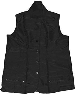 styling/ A Size Above Big & Tall Vented Mesh Back Barber Vest