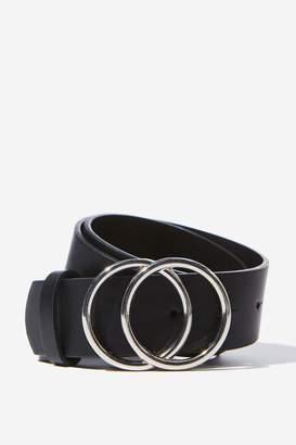 Supre Super Size Double Hoop Belt