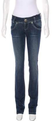 Thomas Wylde Embellished Mid-Rise Jeans w/ Tags
