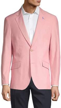 Tailorbyrd Textured Notch Lapel Jacket