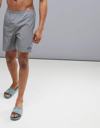 Patagonia Baggies Lightweight Slim Fit Swim Shorts In Grey