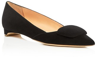 Rupert Sanderson Aga Pointed Toe Flats $495 thestylecure.com
