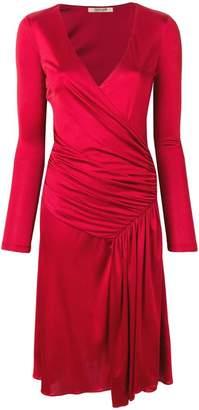 Roberto Cavalli draped detail dress