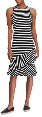 Lauren Ralph Lauren Striped Sleeveless Cotton Dress