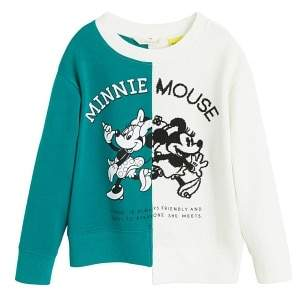 MANGO Minnie Mouse sweatshirt