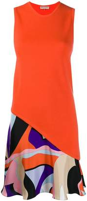 Emilio Pucci Vallauris Print Wool Mini Dress