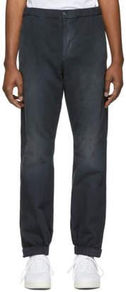 John Elliott Black Petrol Trousers