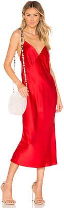 Issa Olivia von Halle Silk Bias Cut Slip Dress