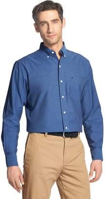 Izod Men's Newport Oxford Classic-Fit Button-Down Shirt