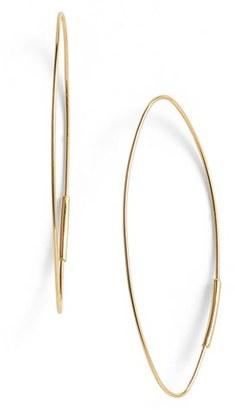 Women's Lana Jewelry 'Magic' Small Oval Hoop Earrings $245 thestylecure.com