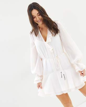 Cooper St Mae Long Sleeve Mini Dress
