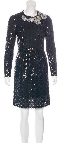 Marc Jacobs Marc Jacobs Embellished Eyelet Dress w/ Tags