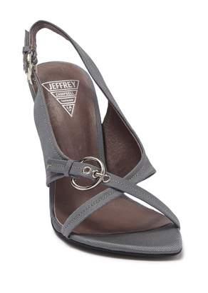 Jeffrey Campbell Winona Pointed Toe Buckle Stiletto Sandal