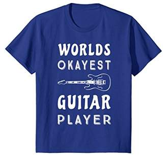 World's Okayest Guitar Player Funny Band T-Shirt