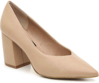 f3eb910df30 Steven By Steve Madden Leather Pumps - ShopStyle