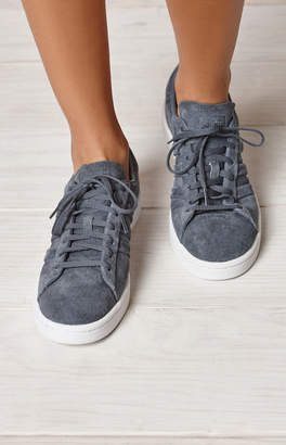 adidas Women's Gray Campus Stitch And Turn Sneakers