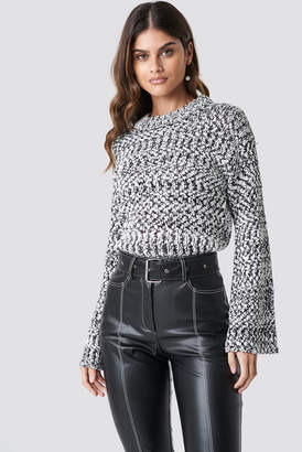 Rut & Circle Rut&Circle Poppi Pullover Grey/White
