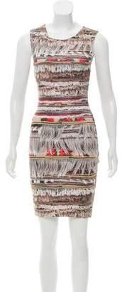 Mara Hoffman Trompe L'oeil Bodycon Dress