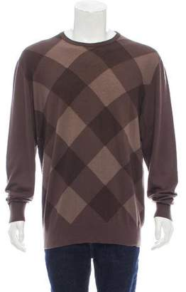 Salvatore Ferragamo Cashmere Crew Neck Sweater