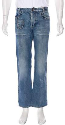 Dolce & Gabbana Five Pocket Relaxed Jeans