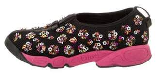 Christian Dior Fusion Sequin Sneakers Black Fusion Sequin Sneakers