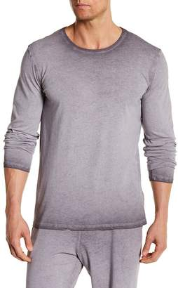 Daniel Buchler Wash Long Sleeve Tee $78 thestylecure.com