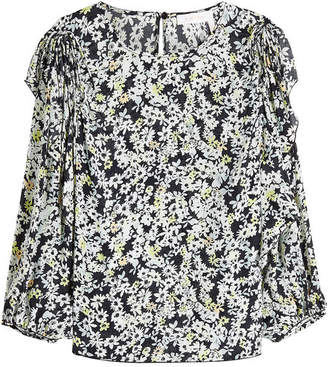 See by Chloe Printed Blouse with Silk