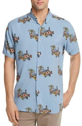 Barney Cools Tropical Regular Fit Button-Down Shirt - 100% Exclusive