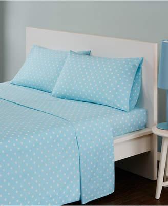 Jla Home Mi Zone Polka Dot 3-pc Twin Cotton Sheet Set Bedding