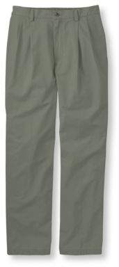 L.L. Bean L.L.Bean Tropic-Weight Chino Pants, Comfort Waist Pleated