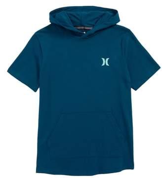 Hurley Bitmapped Logo Hooded T-Shirt