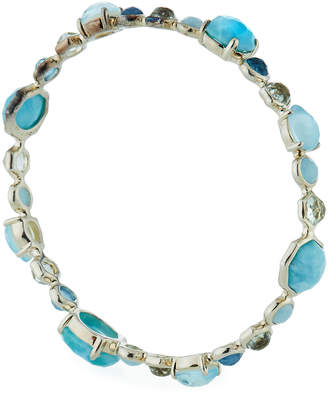 Ippolita Rock Candy Prong and Bezel Bangle in Light Blue