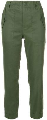 Vince plain cropped trousers