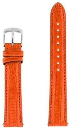 Michele 16mm Lizard Watch Strap