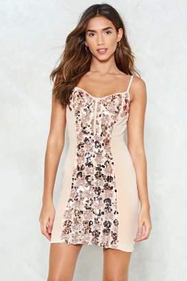 Nasty Gal Like a Bodice on Earth Sequin Dress