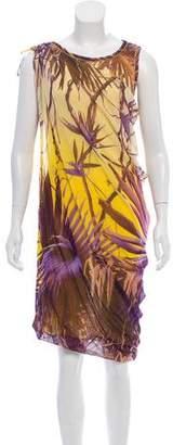 Jean Paul Gaultier Soleil Printed Bubble Hem Dress