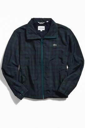 Lacoste Checkered Nylon Windbreaker Jacket