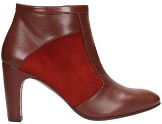 Chie Mihara Brown Leather Ankle Boots