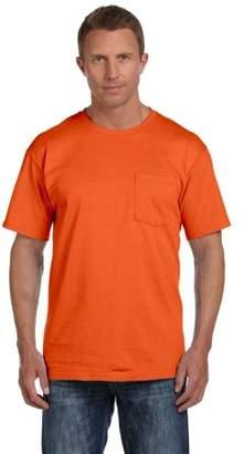 Fruit of the Loom 3931P T-Shirt Short Sleeve Heavy Cotton Pocket