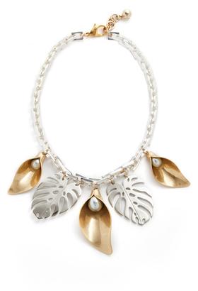 Lulu Frost Jardin Necklace $375 thestylecure.com
