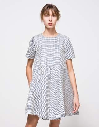 Edit Box Pleat Mini Dress