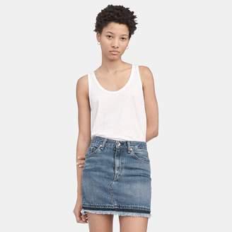Rag & Bone Dive Fringed Mini Skirt