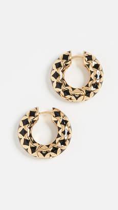 BaubleBar Vasantha Huggie Hoop Earrings