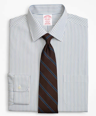 Brooks Brothers Madison Classic-Fit Dress Shirt, Non-Iron Framed Stripe